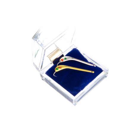 Набор с 4 кристаллами Swarovski на Зубаря