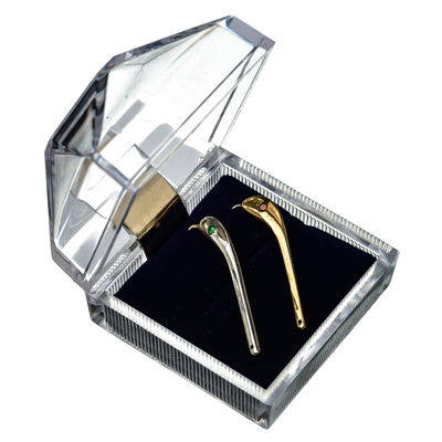 Набор с 2 кристаллами Swarovski на Зубаря