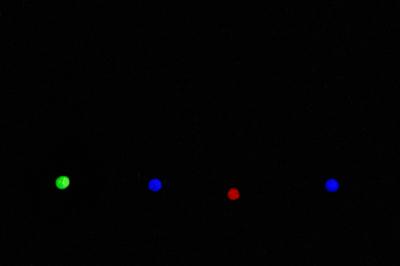 Блесна Огонь 3 см светонакопительная вставка